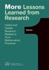 More Lessons Learned from Reasearch - Book