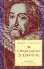 Advancement of Learning - Book