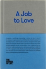 A Job to Love - Book