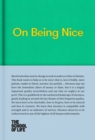 On Being Nice - Book
