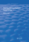 Reproductive and Perinatal Epidemiology - eBook