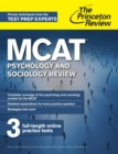 MCAT Psychology and Sociology Review : New for MCAT 2015 - eBook