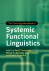 The Cambridge Handbook of Systemic Functional Linguistics - Book