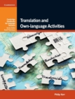 Translation and Own-language Activities - Book