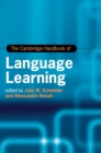 The Cambridge Handbook of Language Learning - Book