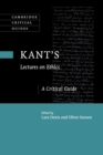 Kant's Lectures on Ethics : A Critical Guide - Book