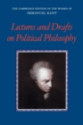 Kant: Lectures and Drafts on Political Philosophy - Book