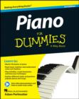 Piano For Dummies : Book + Online Video & Audio Instruction - Book