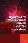 Algorithms for Communications Systems and their Applications - Book