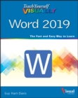 Teach Yourself VISUALLY Word 2019 - Book