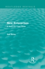 New Enterprises (Routledge Revivals) : A Start-Up Case Book - eBook