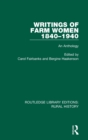 Writings of Farm Women, 1840-1940 : An Anthology - Book