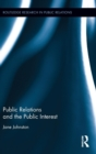 Public Relations and the Public Interest - Book