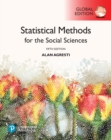 Statistical Methods for the Social Sciences, Global Edition - Book