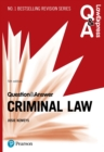 Law Express Question and Answer: Criminal Law - eBook
