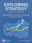 Exploring Strategy, Text and Cases - Book