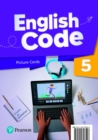 English Code American 5 Picture Cards - Book