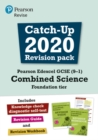 Pearson Edexcel GCSE (9-1) Combined Science Foundation tier Catch-up 2020 Revision Pack - Book