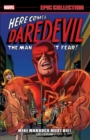 Daredevil Epic Collection: Mike Murdock Must Die - Book