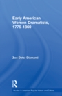 Early American Women Dramatists, 1780-1860 - eBook
