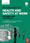 Introduction to Health and Safety at Work : for the NEBOSH National General Certificate in Occupational Health and Safety - eBook