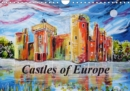 Castles of Europe 2019 : Castles of Europe Painted by Laura Hol - Book