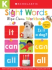 Wipe-Clean Workbooks: Sight Words (Scholastic Early Learners) - Book