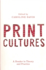 Print Cultures : A Reader in Theory and Practice - eBook