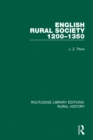 English Rural Society, 1200-1350 - eBook
