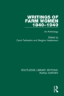 Writings of Farm Women, 1840-1940 : An Anthology - eBook