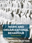 Work and Organizational Behaviour - Book