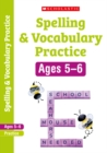 Spelling and Vocabulary Workbook (Year 1) - Book