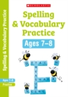 Spelling and Vocabulary Workbook (Year 3) - Book