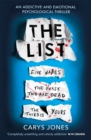The List : 'A terrifyingly twisted and devious story; a sadistic game of cat and mouse' - Book