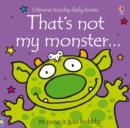 That's Not My Monster - Book