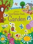 First Sticker Book Garden - Book