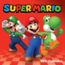 Super Mario 2021 Wall Calendar - Book