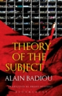 Theory of the Subject - Book