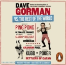 Dave Gorman Vs the Rest of the World - eAudiobook