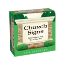 Church Signs 2020 Day-to-Day Calendar - Book