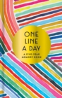 Rainbow One Line a Day : A Five-Year Memory Book - Book
