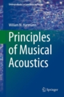 Principles of Musical Acoustics - eBook
