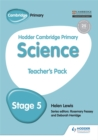 Hodder Cambridge Primary Science Teacher's Pack 5 - Book