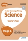 Hodder Cambridge Primary Science Teacher's Pack 6 - Book