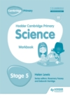 Hodder Cambridge Primary Science Workbook 5 - Book