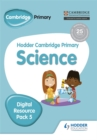 Hodder Cambridge Primary Science CD-ROM Digital Resource Pack 5 - Book