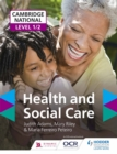 Cambridge National Level 1/2 Health and Social Care - Book