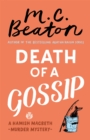 Death of a Gossip - Book