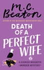 Death of a Perfect Wife - Book