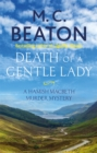 Death of a Gentle Lady - Book